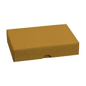 Pressel 20 boîtes cadeau A4+ or
