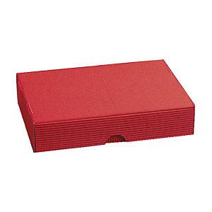 Pressel 20 boîtes cadeau A5 rouge