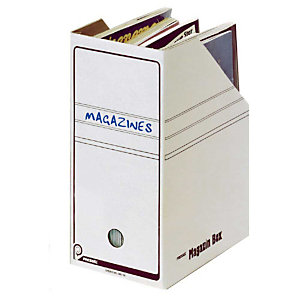 Pressel 20 Boîtes-magazines blanche 150mm