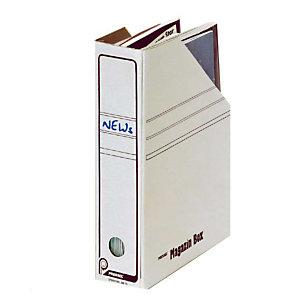 Pressel 20 Boîtes-magazines blanche 75mm