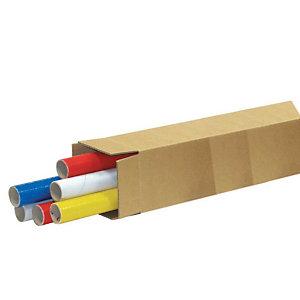 Pressel 20 caisses américaines simple cannelure, 1200x150x150mm