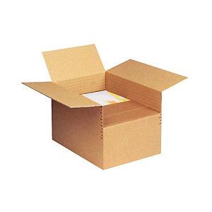 Pressel 20 Cartons ajustables 1 cannelure, A5