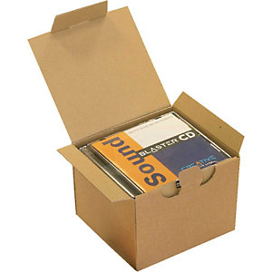 Pressel 25 Boîte postale brunes, 145x130x55mm