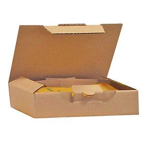 Pressel 25 Boîte postale brunes, 160x80x80mm