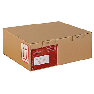 Pressel 25 Boîte postale brunes, 250x250x100mm