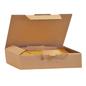 Pressel 25 Boîte postale brunes, 310x215x50mm
