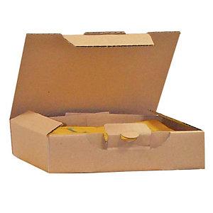 Pressel 25 boîtes postale brunes, 325x250x85mm