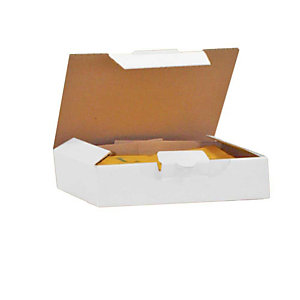 Pressel 25 boîtes postales blanches, 180x130x45mm