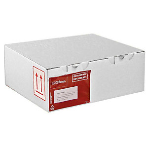 Pressel 25 boîtes postales blanches, 250x150x100mm