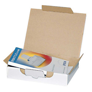 Pressel 25 boîtes postales blanches, 430x300x45mm