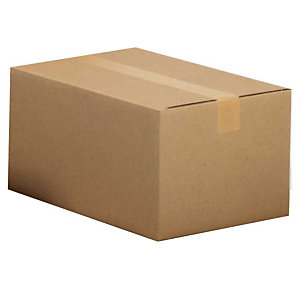 Pressel 25 caisses américaines simple cannelure, 500x400x340mm