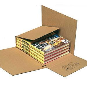 Pressel 25 Multi-Mail brun, 245x165x10-80mm