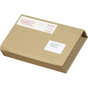 Pressel 25 Multi-Mail avec fermeture auto-adhésive, brun,  220x158x10-60mm