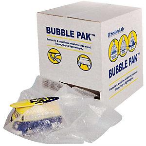 Pressel Film à bulles prédécoupé en boîte distributice