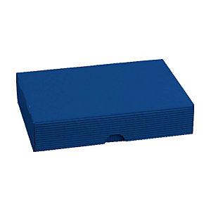 Pressel geschenkdoos A4, blauw, 319x231x50-75 mm