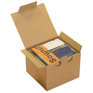 Pressel postdozen, bruin, 145x130x110mm