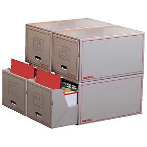 Pressel Set de boîtes multi-usage à tiroir pour dossiers suspendus