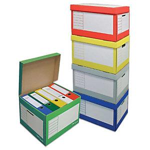 Pressel Set de caisses à archives,couleur