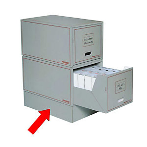 Pressel Socle pour boîte multi-usage à tiroir