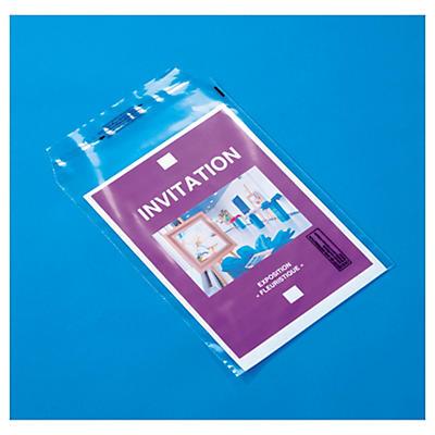 Priehľadné plastové obálky