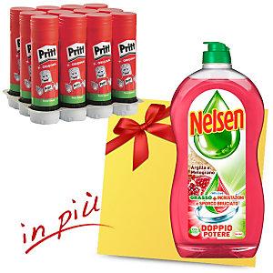 Pritt Offerta 12 colle Stick da 22 grammi + 1 Nelsen Piatti Argilla e Melograno compreso nel prezzo