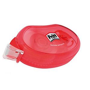 Pritt Pegamento en aplicador, Rodillo compacto de pegamento permanente, 8,4mm x 10m