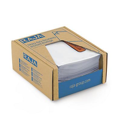 Mini-colis pochette porte-documents neutre Super Raja##Proefpakket documentenhoes onbedrukt Super Raja