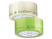 Proefpakket milieuvriendelijke geluidsarme PP tape