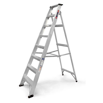 Professional aluminium builders step ladders