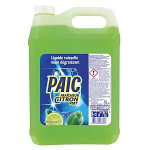 Professioneel handafwasmiddel limoengeur Paic, bus van 5 L.