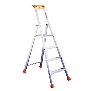 Professionele Tubesca ladders 4 treden