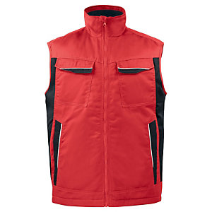 PROJOB Gilet mutlipoches Rouge S