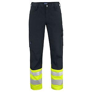 PROJOB Pantalon HV Jaune/Noir CL 1 T.46