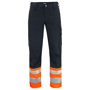PROJOB Pantalon HV Orange/Noir CL 1 T.42