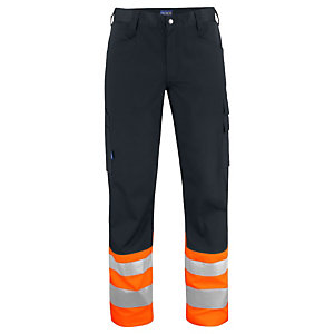PROJOB Pantalon HV Orange/Noir CL 1 T.44