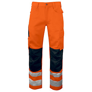PROJOB Pantalon HV Orange/Noir CL 2 T.44
