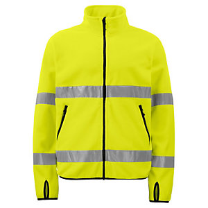 PROJOB Veste polaire High Viz jaune CL 3 XL