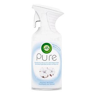 Promo : 1+1 Désodorisant Air wick gamme pure 250 ml Douceur de coton