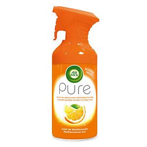 Promo : 1+1 Désodorisant Air wick gamme pure 250 ml soleil de méditerranée