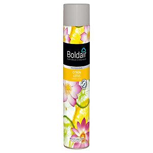 Promo : 1+1, Désodorisant Boldair Citron Lotus, aérosol de 750 ml