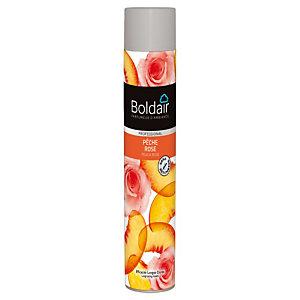 Promo : 1+1, Désodorisant Boldair Pêche Rose, aérosol de 750 ml