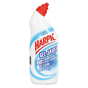 Promo : 1+1 Harpic gel javel Eclat & Blancheur 750 ml