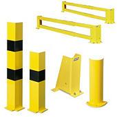 Protection pour rack à palettes