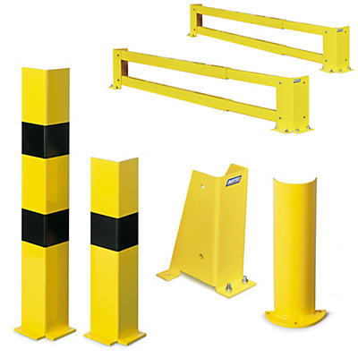 Protection rayonnage à palettes##Afbakening voor palletstellingen