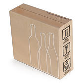 Protective wine cases and beer boxes