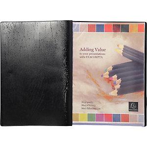 Protège-documents VEGA - 50 pochettes - Noir