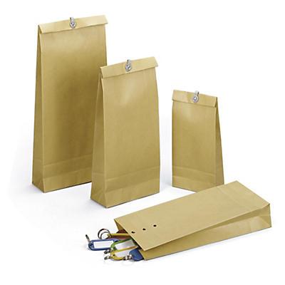 Prøveposer af kraftpapir