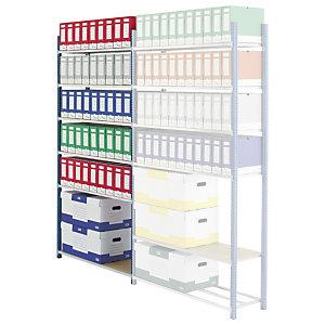 PROVOST Estantería de archivo Archiva - módulo adicional 103 (an) x 200 (alt) x  35 (prof) cm.