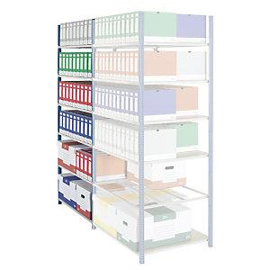 PROVOST Estantería de archivo Archiva - módulo adicional 103 (an) x 200 (alt) x  70 (prof) cm.