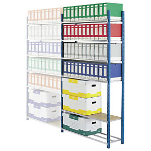 PROVOST Estantería de archivo Archiva - módulo inicial 103 (an) x 200 (alt) x  35 (prof) cm.